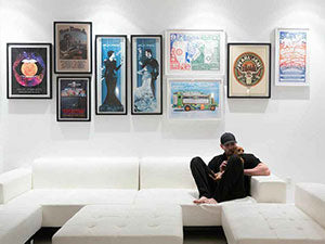 The Ultimate Gig Poster Gallery Wall
