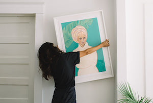 Our Step-By-Step Art Hanging Guide