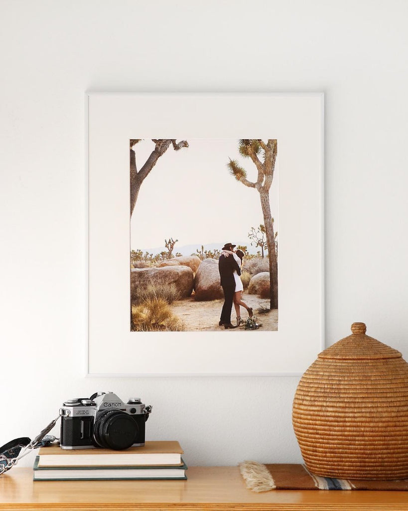 simply framed photo