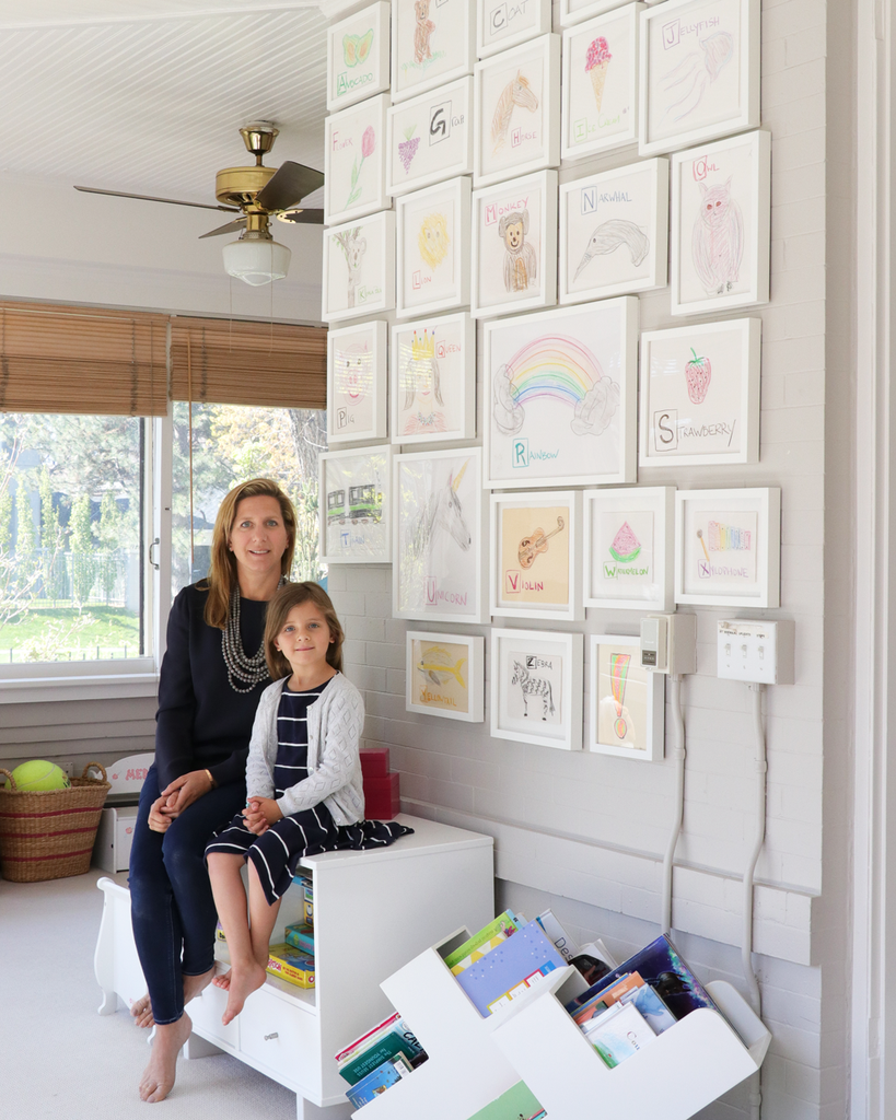 mother's day gallery wall