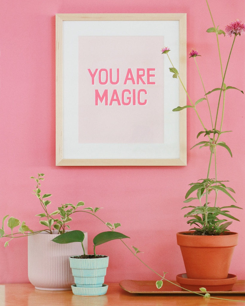 banquet workshop you are magic custom framed