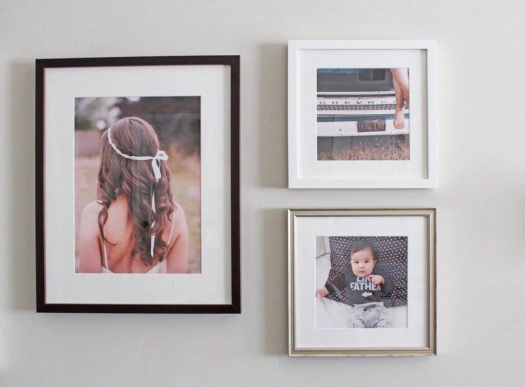 Simply Framed Print and Frame Gallery Wall