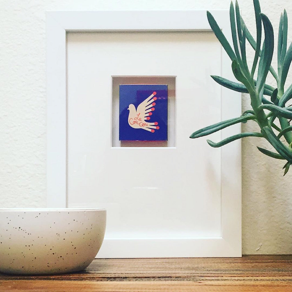 Simply Framed Custom Framed Matchbook