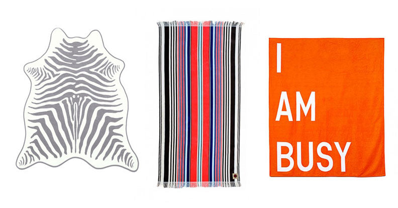 Gray Malin's favorite beach towels via Simply Framed