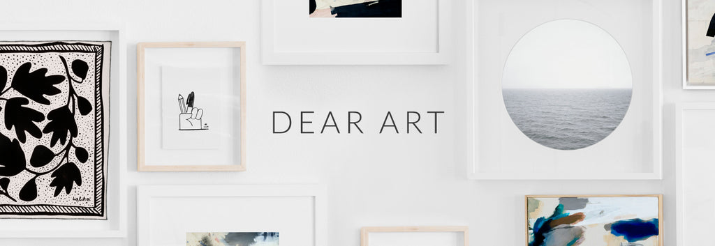 Dear Art Thanksgiving Simply Framed