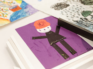 8 Tips To Frame Kids' Art