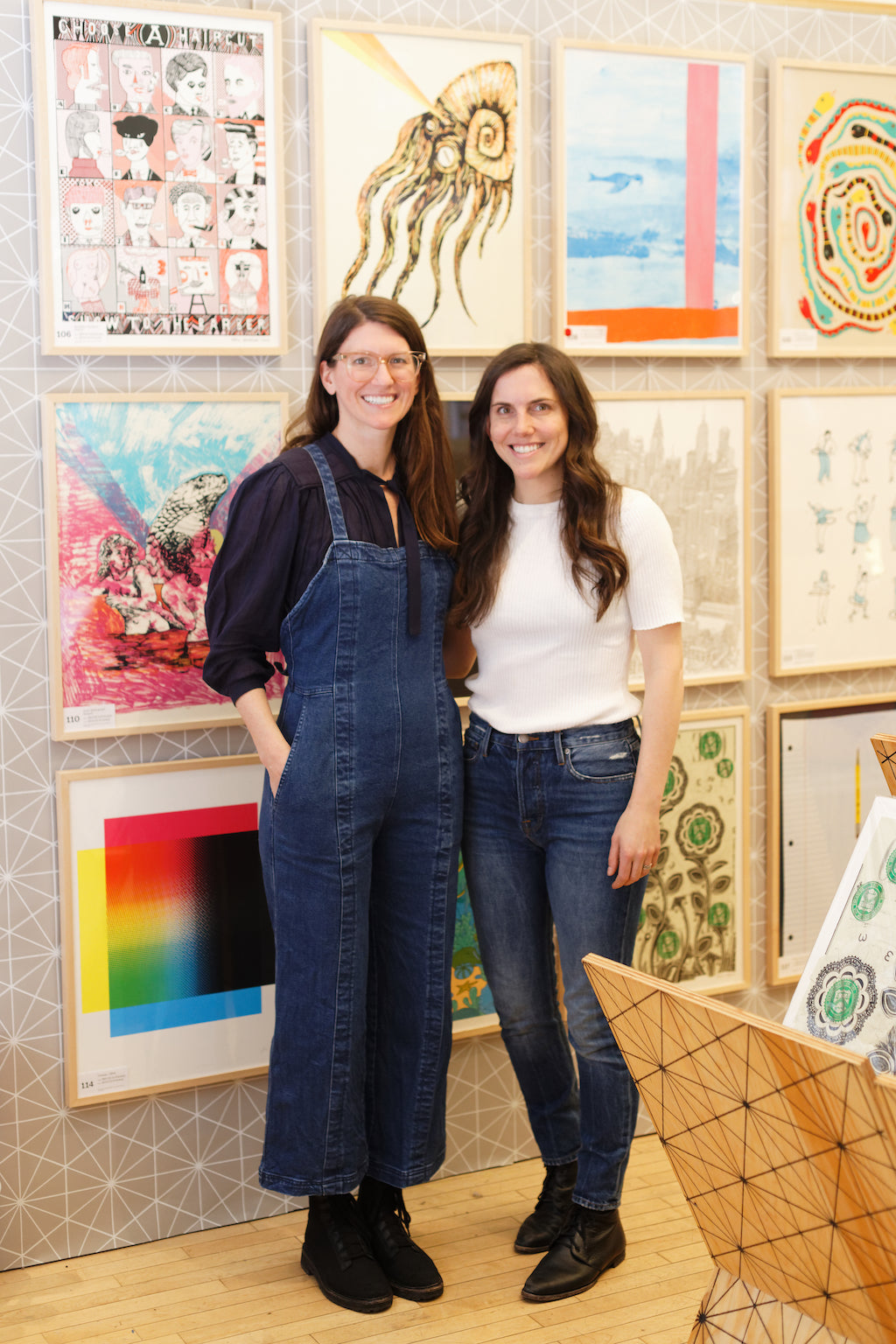 Dara Segal and liz Libré simply framed