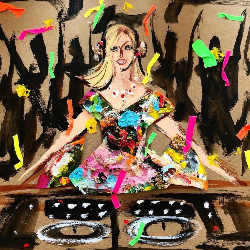 DJ Mad Marj by Donald Drawberton Robertson