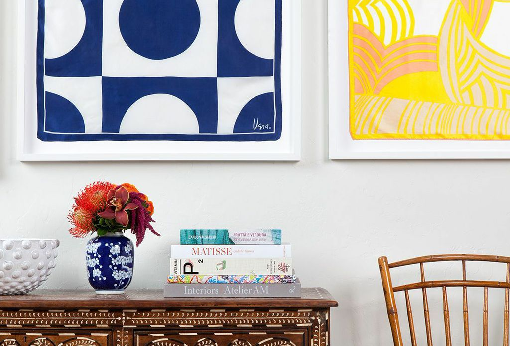 How to Frame a Scarf with Simply Framed. Photo Credit: Morgan Rachel Levy for Simply Framed