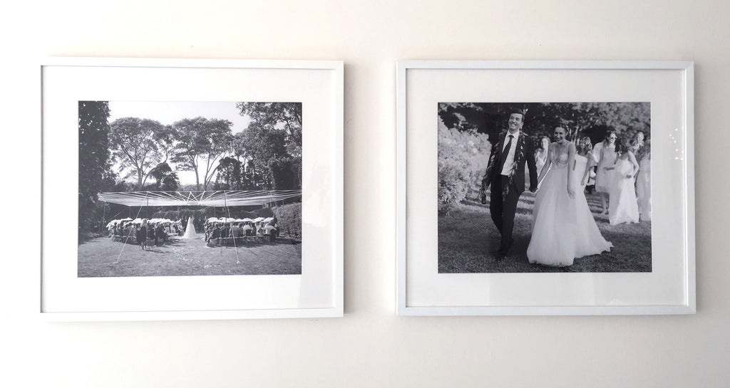 lauren schwab custom framed wedding photos