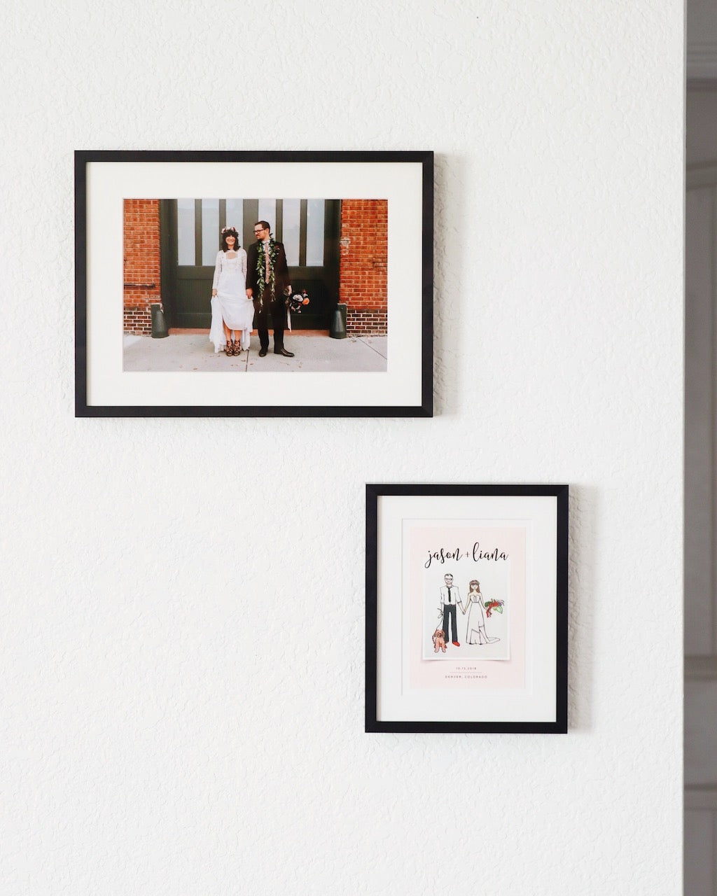 custom framed wedding photos simply framed