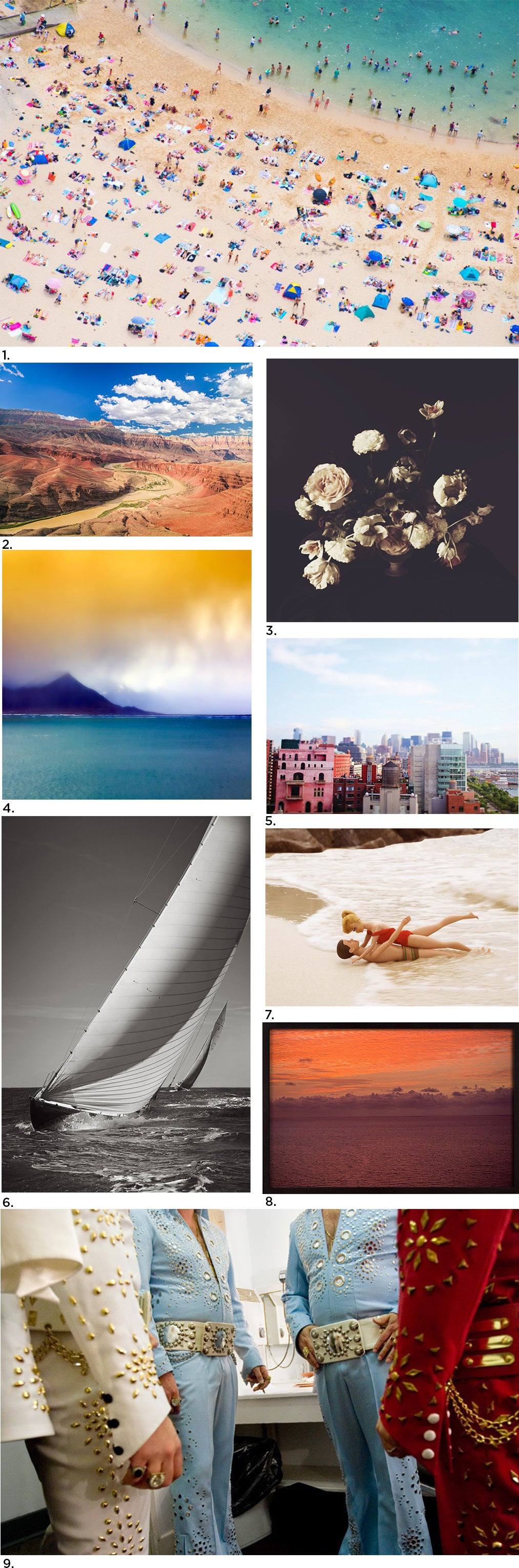Oversized Photography Source List via Simply Framed, featuring Gray Malin, 20x200, Subject Matter Art, Ashley Woodson Bailey, Bacekamp, Max Wanger, Daylight Dreams Editions and Drew Doggett