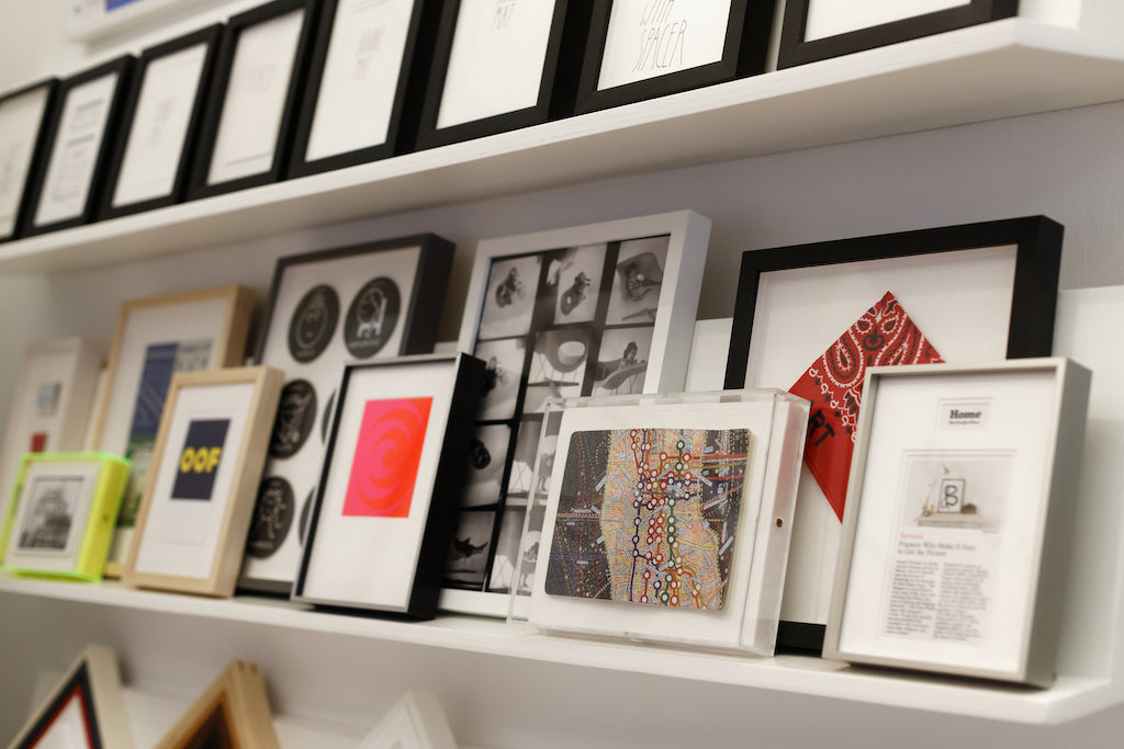 simply framed at MoMA Design Store