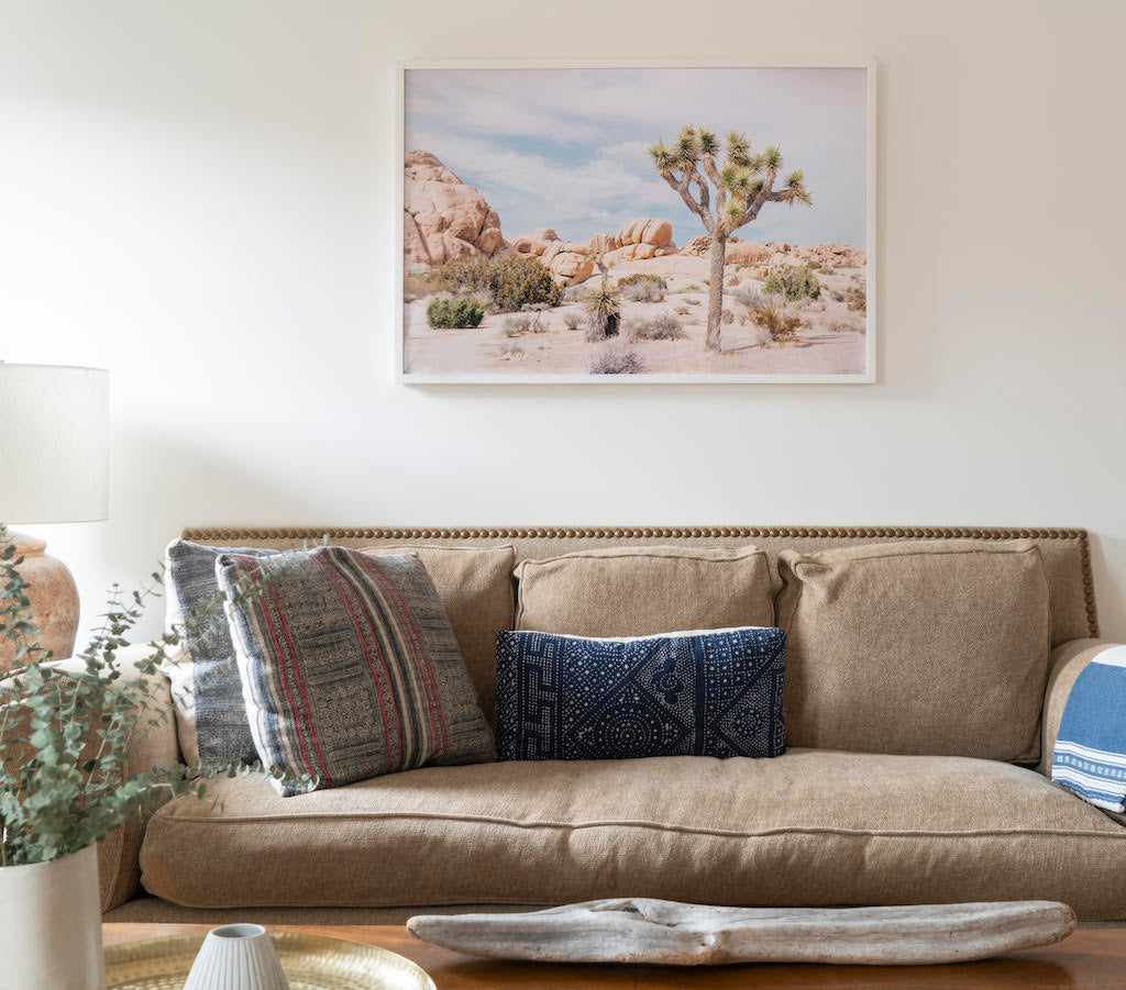 custom framed Joshua tree photo