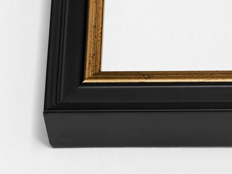 Black With Gold Certificate Frame Simply Framed