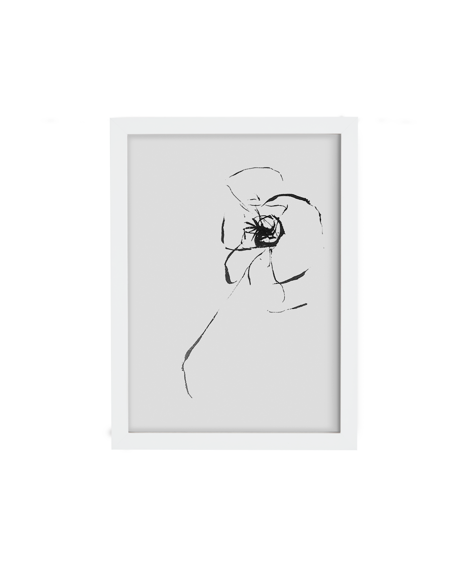Up to 24x36 White Gallery frame, 99% UV Plexi