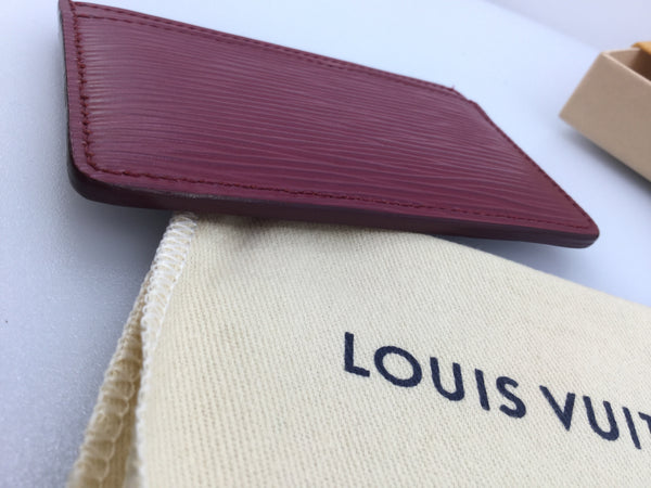 Louis Vuitton Neo Epi Leather Cartes