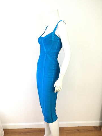 Stunning Herve' Leger Iconic Bandage Dress Size M