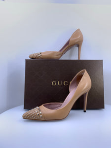Gucci D'Orsay High Heel Shoes Size 40 (9)