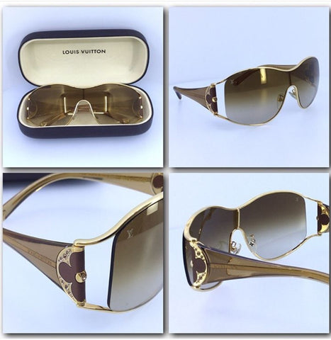 Louis Vuitton Sunglasses with Case