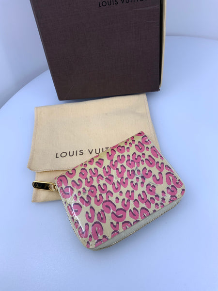 Louis Vuitton Vernis Leopard Wallet