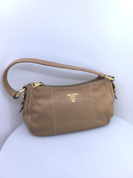 Classic Vintage Leather Prada Handbag