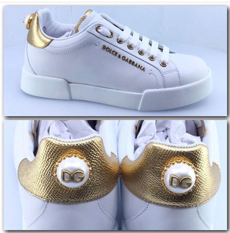 NEW Dolce and Gabanna Portofino Sneakers Sizes 36 & 37