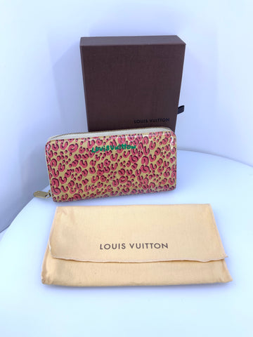 Louis Vuitton Vernis Leopard Wallet Large
