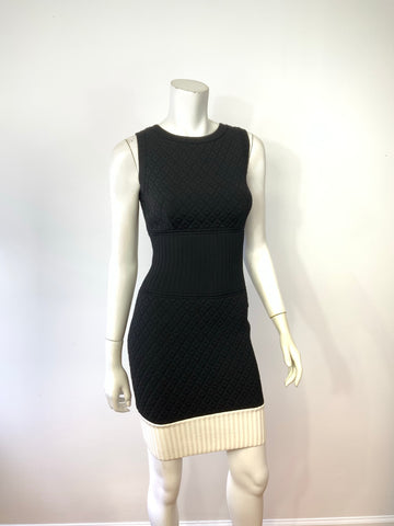 Chanel Sleeveless dress Size 36 (xs) Black Ivory