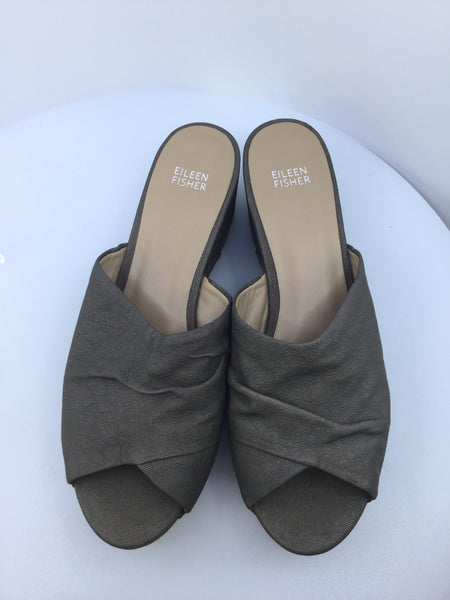Eileen Fisher Size 10 Slip On Shoes