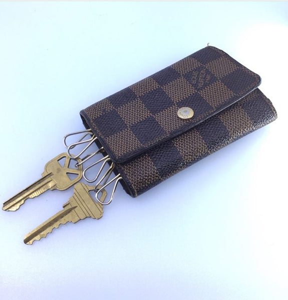Louis Vuitton Damien Ebene 6 Key Holder