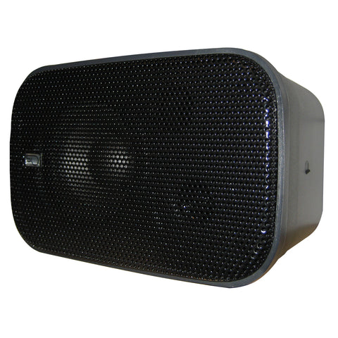 "Poly-Planar Compact Box Speaker - 7-1-2"" x 4-15-16"" x 4-15-16"" - (Pair) Black [MA800B]"