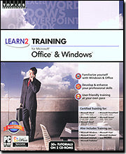Topics Professional Microsoft Office & Windows Training