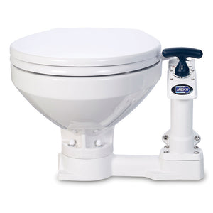 Jabsco Manual Marine Toilet - Regular Bowl w-Soft Close Lid [29120-5100]