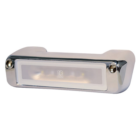 Lumitec Perimeter Light - Chrome Finish - White-Blue Dimming [101396]