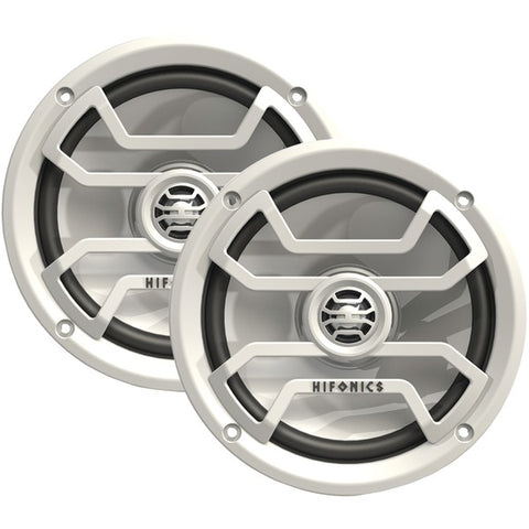 "Thor Series 6.5"" 2-Way Coaxial Marine-Powersports Speakers (White)"