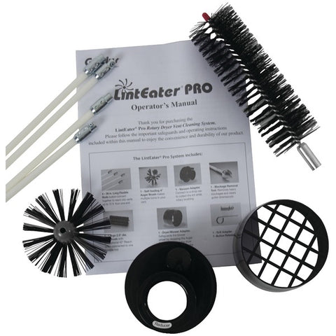 Pro 10-Piece Rotary Dryer Vent Cleaning System