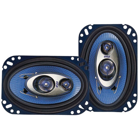 "Blue Label Speakers (4"" x 6"", 3 Way)"