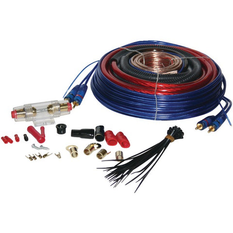 4-Gauge 1,600 Watt Amp Installation Kit