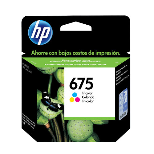 Cartucho de tinta HP 675 (CN691AL) – Color