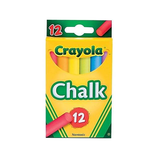 Crayola Tiza Color Antipolvo 12/1 (51-0816)