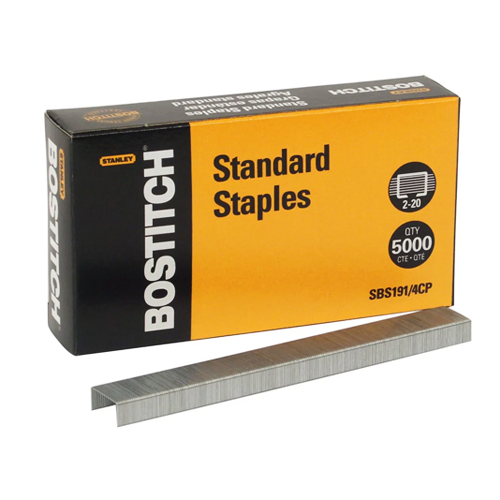 Grapa Estándar Premium – Bostitch #SBS191 / 4CP