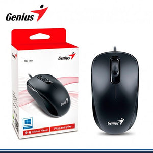 Mouse Genius Optico DX-110 USB Negro