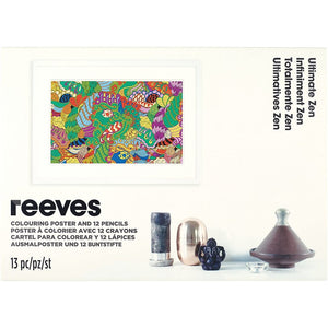 Reeves - Poster à colorier