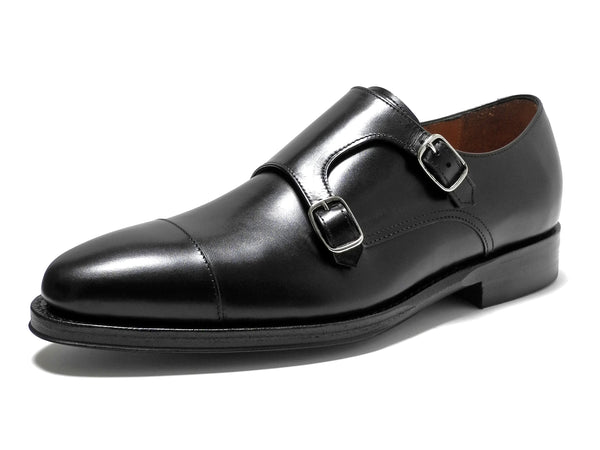 JALAN SRIWIJAYA ダブルモンク (98374/Calf/11120/Dainite) Black
