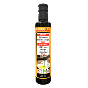 Organic Extra Virgin Olive Oil with Balsamic Vinegar, 250 mL