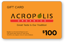 Load image into Gallery viewer, Acropolis Organics Gift Card