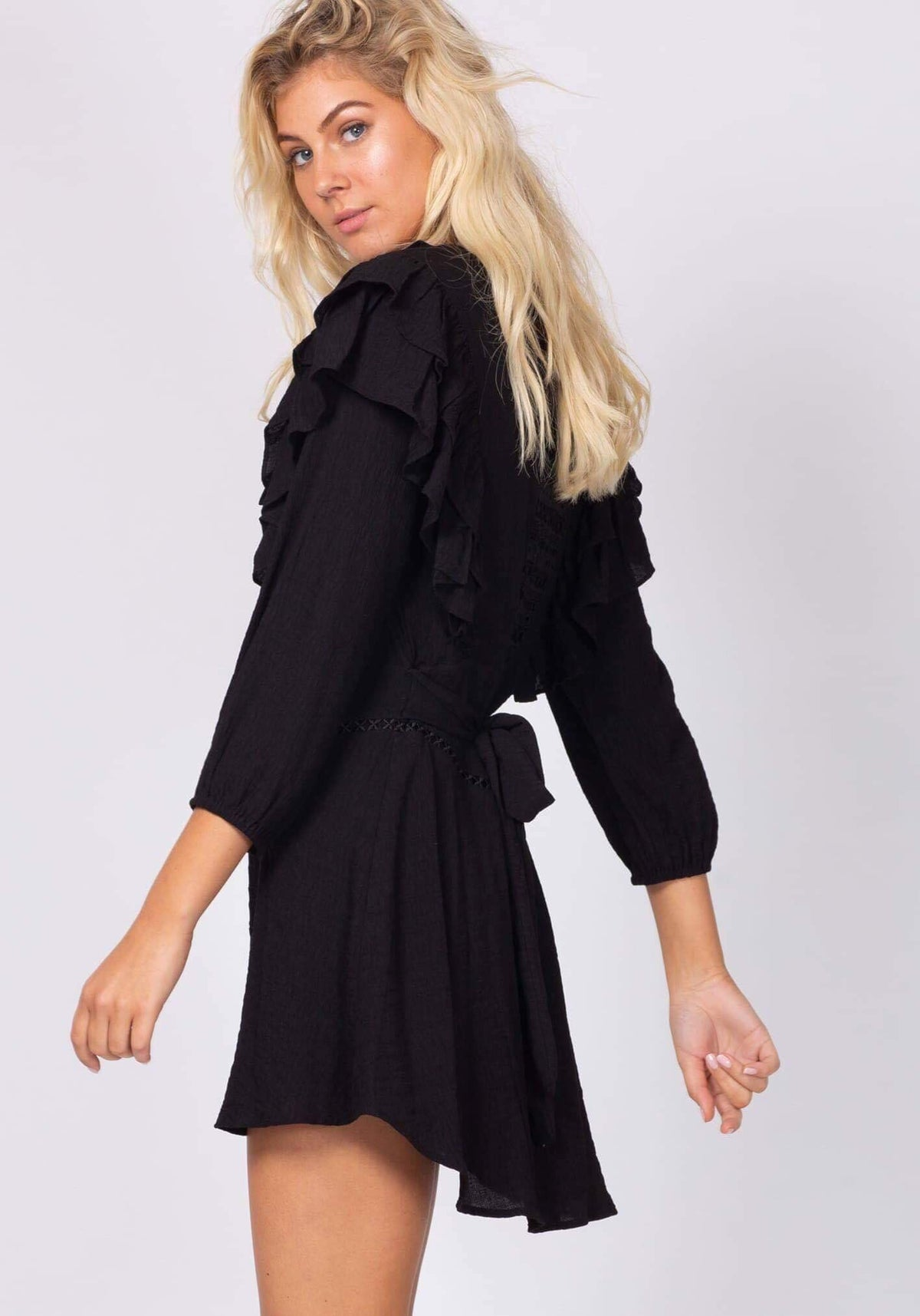 Thistle Dress Black