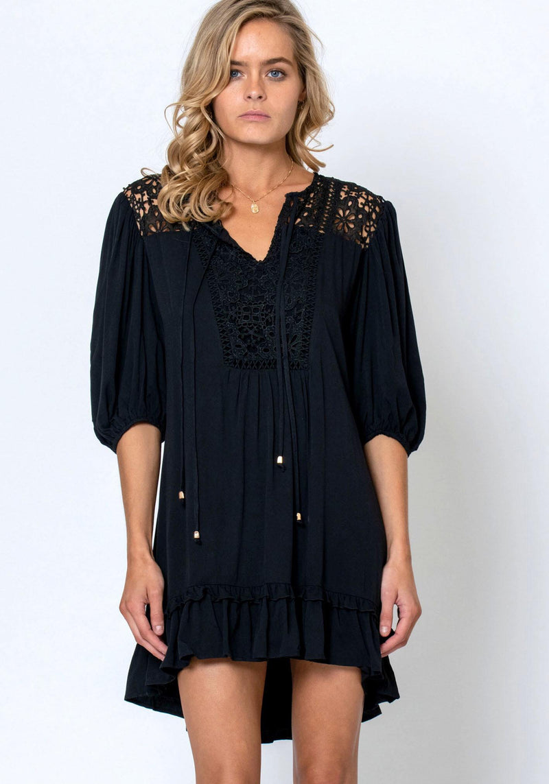 Light House Dress - Black