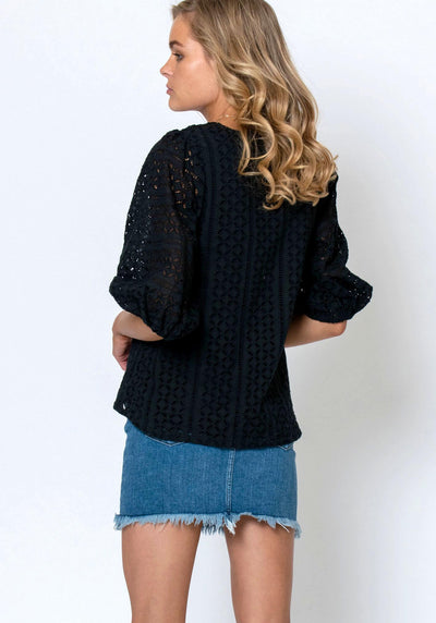 Eden Blouse - Black